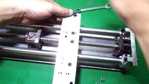 Homemade Wood Metal Mini Micro Nano Lathe Machine DIY Axis Tailstock Plans CNC Linear Rails Project
