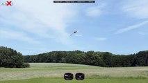neXt CGM rc Heli Simulator trex 700 DFC hv wow almost so real