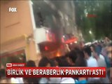 Kırşehir'de dükkanı yakılan esnaf'tan 'Yüzyıllardır Bir bütünüz ve Bir bütün kalacağız' mesajı
