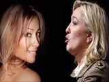 Marine Le Pen Clash Anne-Sophie Lapix - Le Pen rancunière exige de la loyauté comme en dictature.