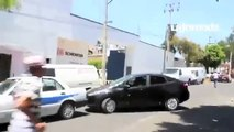 Mexico Cab (Taxi) Drivers Attack Uber Drivers Battle