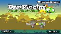 Angry Birds Bad Piggies Stop Stop Stop Game Walkthrough Gameplay
