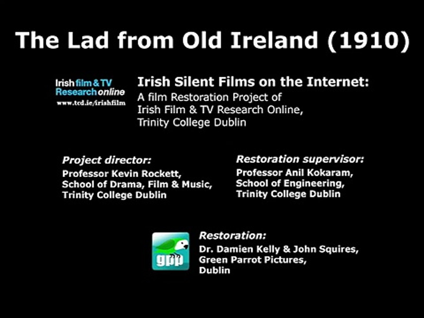 The Lad from Old Ireland (1910)