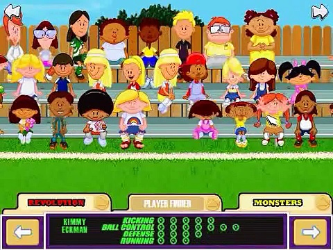 Backyard Soccer: MLS Edition Gameplay