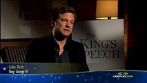 Colin Firth and Geoffrey Rush, The King's Speech - Cineplex Interview