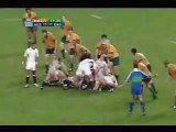 The best rugby union drop-kick of all time - Zinzan Brooke