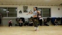 Démonstration de Sigalite en cours de danse