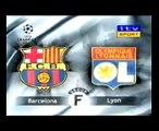 Coupe vs Rivaldo ( Lyon x barcelona ) !