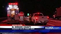 Highway 50 Reopens In Sierra