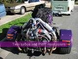 Leon's Twin Turbo VW Powered Trike on the Dyno
