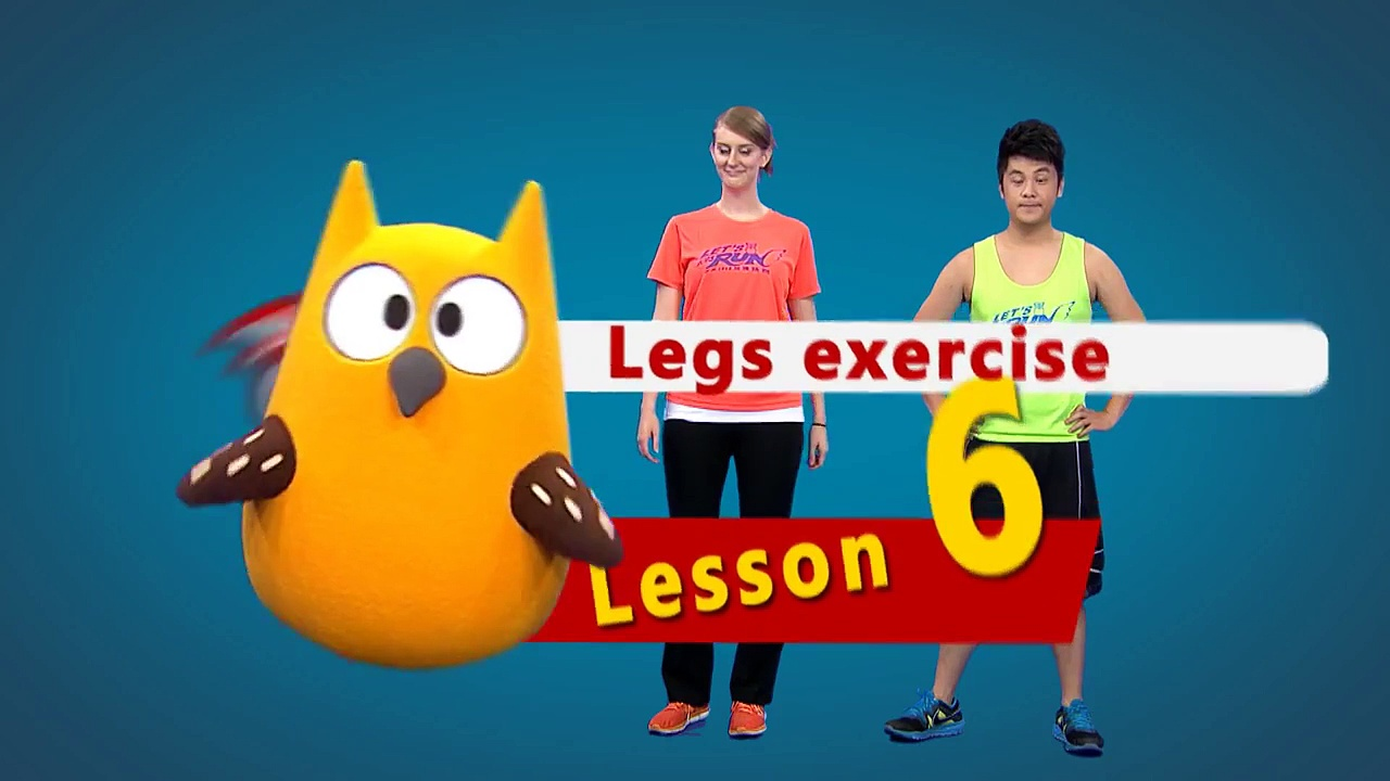 【Let's Exercise】#6 Legs exercise