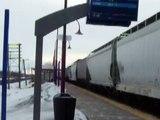 CP 9840, CP 9142, CP 9678 @ Cedar Park Station, Pointe Claire, QC