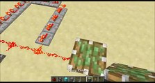 Minecraft Redstone for Dummies Episode 1 - Redstone Pulses and One Tick Pulse