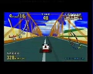Virtua Racing PAL Megadrive (Game Complete)