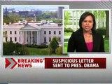 Ricin Letter Sent to Obama, Assassination Attempt
