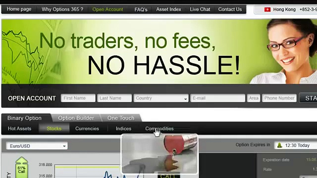 Japanese Binary Options Trading Websites i.e. Banc de Binary, 24Option, Plus500, eTorro, GOptions