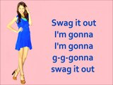 Zendaya - Swag It Out (Lyrics)