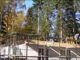 Как построить дом за шесть дней? Дом из Германии.