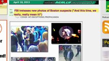 "Boston Marathon Bombing Suspects & Conspiracy Theories of ""Inside Job"" & ""False Flag"""