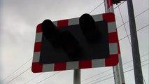 Level Crossing at Merrion Gates in Dublin