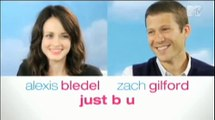 Alexis Bledel and Zach Gilford Give Career Advice