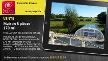 A vendre - Maison - THOUARSAIS BOUILDROUX (85410) - 8 pièces - 170m²