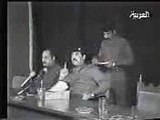 Saddam swearing in Kurdish WARNING - SWEARING