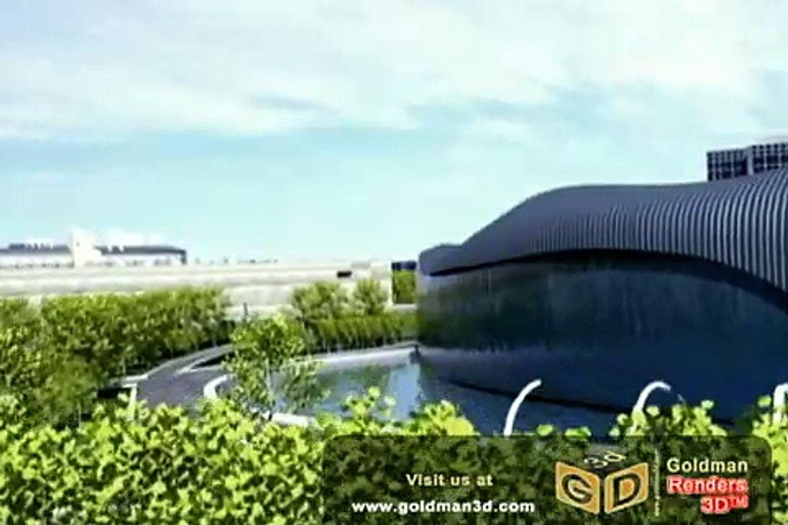 Virtual Tour Water Park in San Diego, Recorrido Virtual 3D Parque Acuatico estilo Dubai en San Diego