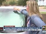 Possible freeway shooting victim speaks to ABC15