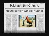 Klaus & Klaus -- Heute satteln wir die Hühner