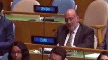 Ambassador Prosor's final speech at the General Assembly