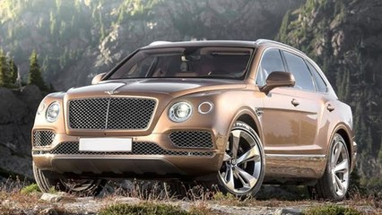Bentley Bentayga SUV | 'Fastest, Most Powerful' SUV | Upcoming Luxury Cars 2015