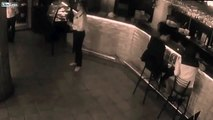 LiveLeak   Russian waitress smacks up unruly customer