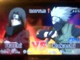naruto ultimate ninja heroes itachi vs kakashi