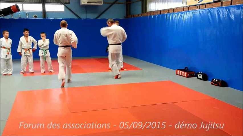 Démonstration de Jujitsu - Andeville - 05/09/2015