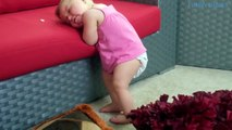 Funny Sleeping Baby Fails of 2015   Funnies Kid Sleeping NEW HD | funny baby fails