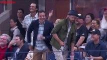 Jimmy Fallon et Justin Timberlake danse sur Single Ladies pendant l'US Open