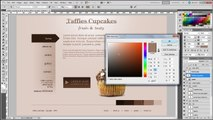 Photoshop tutorial part4 final - how to design a professional website mock-up in photoshop cs5