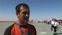 Drazen wingsuit jump from microlight - Air sports stunts and records