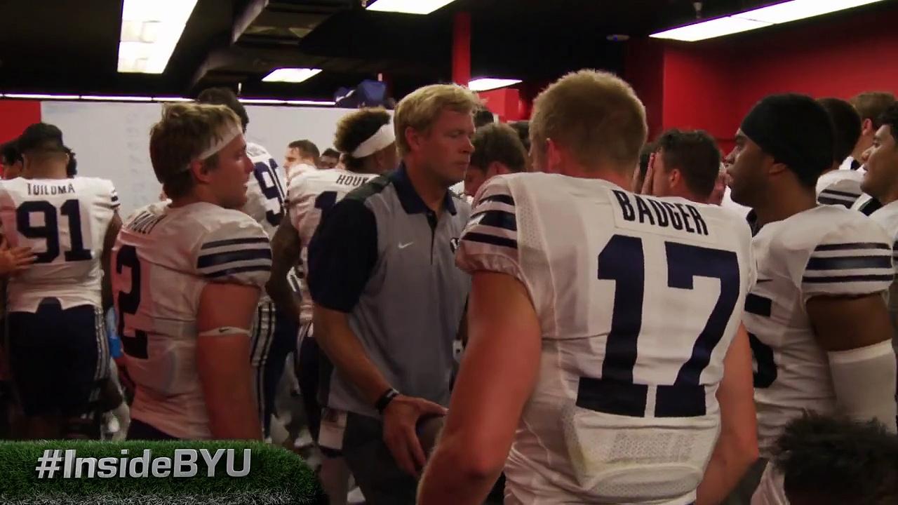 Inside BYU Football – Taysom Hill in Locker room