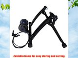 Green Bay Bike Bicycle Turbo Trainer Indoor Cycling Exercise 7 Level Magnetic Resistance Adjustable
