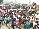 Bangladesh Private university protest 7.5% VAT (Dhaka city road block)