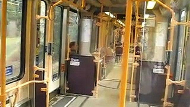 Portland MAX Red Line train ride