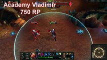 [PBE PATCH 5.16] ACADEMY VLADIMIR Skin PREVIEW - Pre-Release - League of Legends