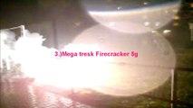 Flash powder bomb extreme homemade explosion 15g (KClO4 + Al pyro dark)
