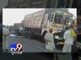 Three killed, one injured as truck rams into dumper, Kutch - Tv9 Gujarati