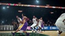 NBA 2K15 PS4 1080p HD Mejores jugadas Los Angeles Lakers-@Milwaukee Bucks