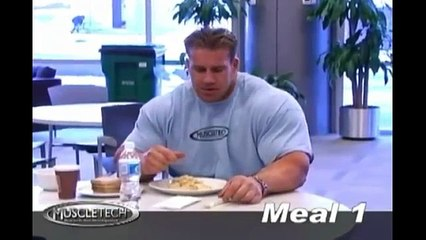 Weight Lifting Diet With  MUSCLE GAINING Jay Cutler
