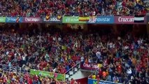 SPAIN UKRAINE 1 0   Qualifying tournament of Euro 2016   27 03 2015