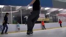 Ice Freestyler JINGU JUN 2013 (Extreme Ice skating)